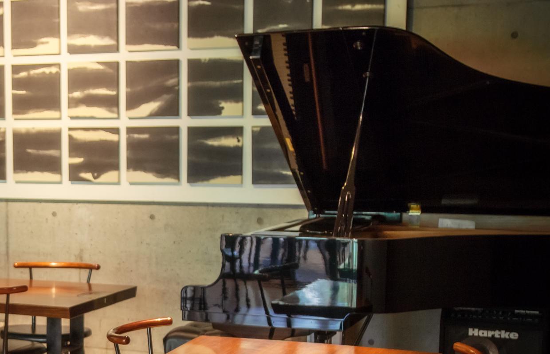 綾戸智恵さんのグランドピアノ