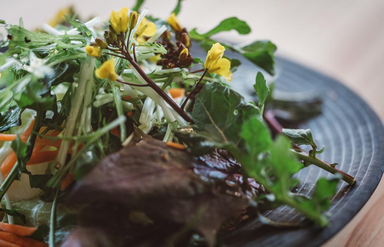 菜園サラダ